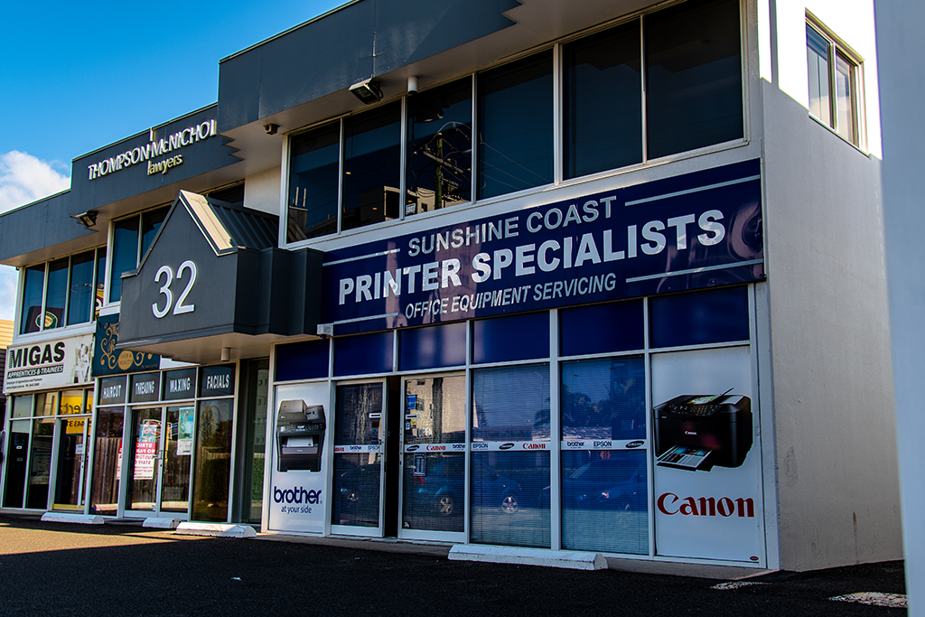 Sunshine-Coast-Printer-Specialists-Location